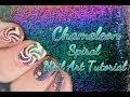 Chameleon Gradient Swirl Nail Art Tutorial