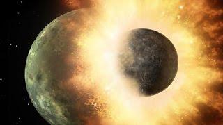 La Luna nació del choque frontal de la Tierra y Theia