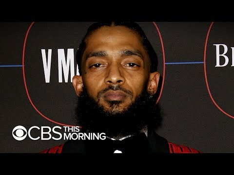 TimBuck2 - A Stampede broke out at Nipsey Hussle Candle light Vigil in L.A.