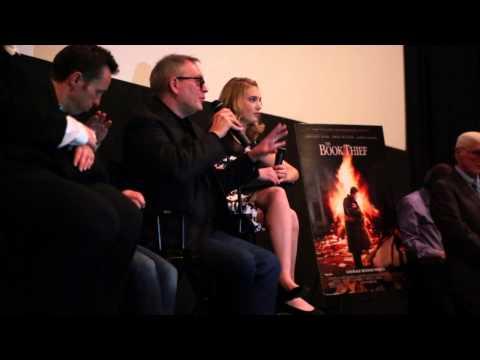 The Book Thief - Brian Percival, Markus Zusak, and Sophie Nélisse visit Philadelphia