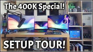 Python's Setup Tour 2020! (400K Subs Special!) (4K!)