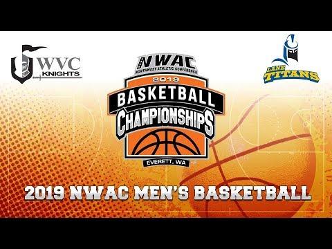 2019 NWAC Men\'s Basketball Game 4 - Wenatchee vs Lane