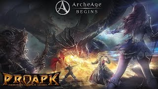 archeAge BEGINS Android Gameplay (CBT) (by GAMEVIL)