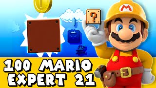 Super Mario Maker: Tutorial 102 (Expert #21)