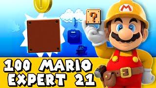 Super Mario Maker: Tutorial 102 (Expert #21)