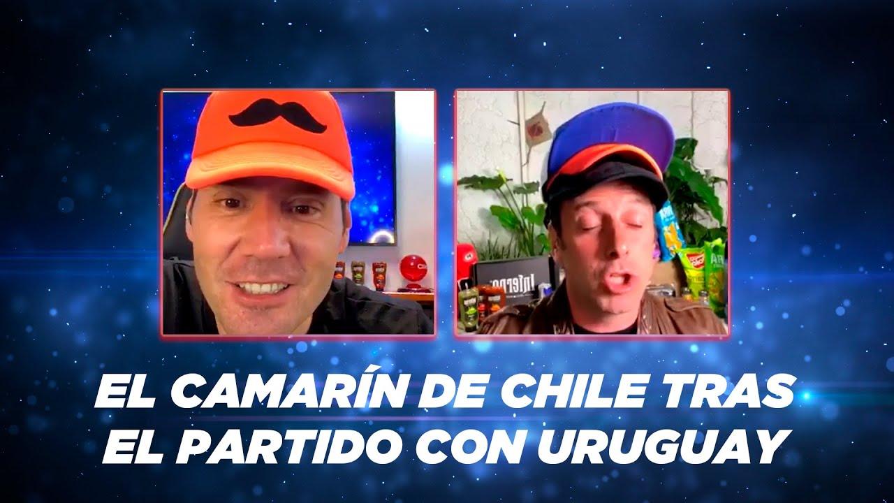 Stefan Kramer presenta el camarín de Chile tras el partido con Uruguay
