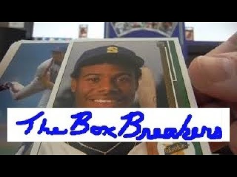 3659e21529 Most Amazing Griffey Rookie RC Pull Ever Opening 1989 Upper Deck Baseball  Card Box Break Live Part 1