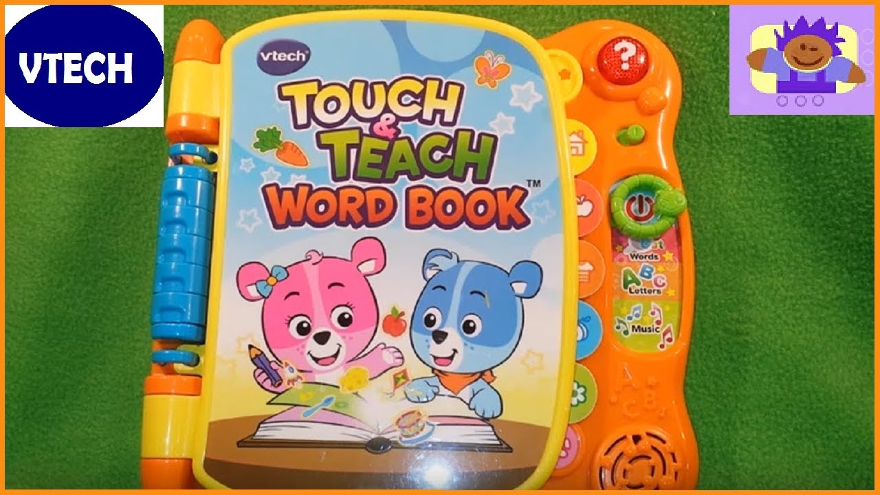 Vtech Word Book Youtube Free Wiring Diagram For You