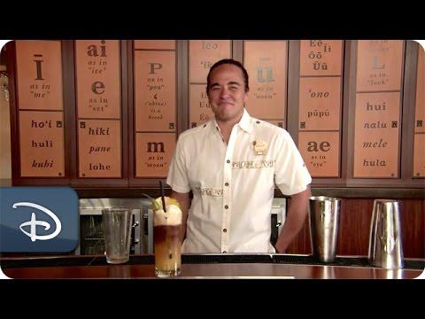Tastes of Aulani, A Disney Resort & Spa | Tropical Mai Tai at The 'Olelo Room