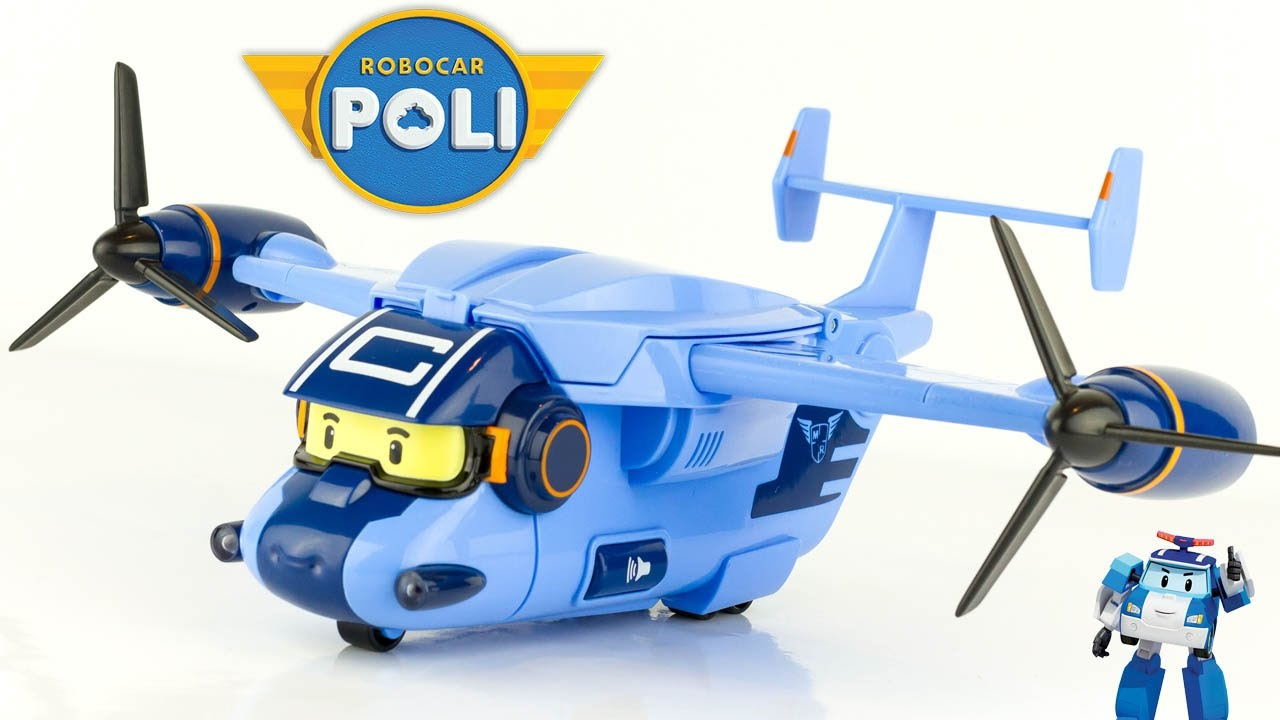 nouveau robocar poli cargo avion transporteur jouet toy. Black Bedroom Furniture Sets. Home Design Ideas