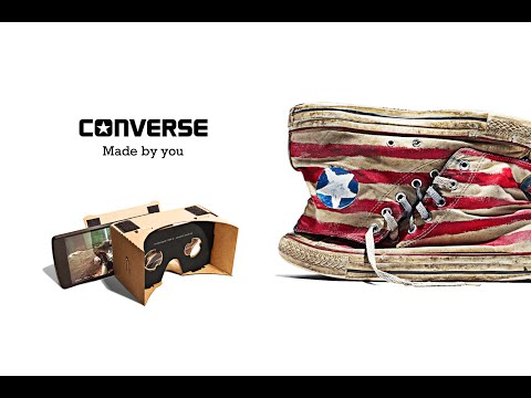Converse, In Their Chucks – a Virtual Reality Experience