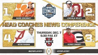 2017 Head Coaches News Conference thumbnail