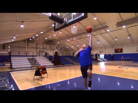 Basketball Post Moves -- Basketball Post Position Training Series at IMG Academy (1 of 5)