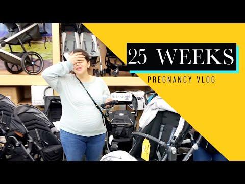 PREGNANCY VLOG - 25 Week Update - Baby Registry Time! | Jacqie Rivera
