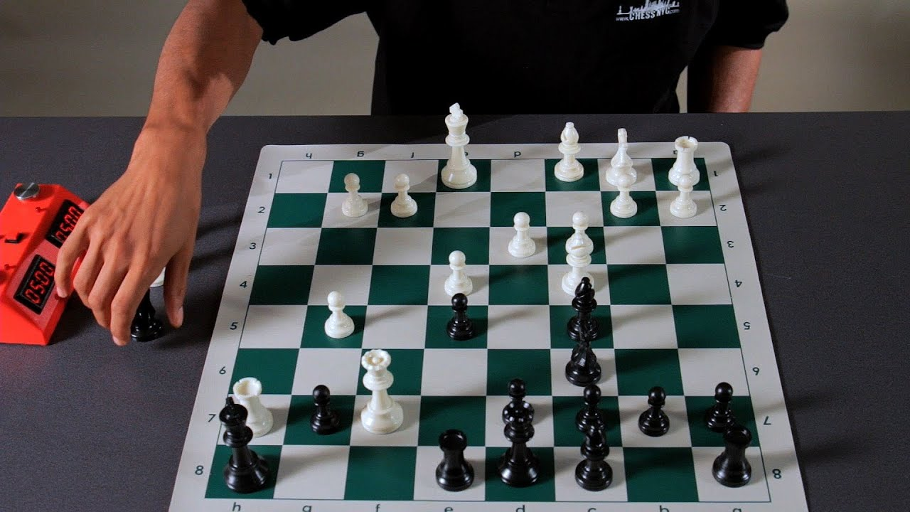 how to begin chess game