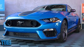homepage tile video photo for The 2021 Mustang Mach 1 Is Just a New Boss 302