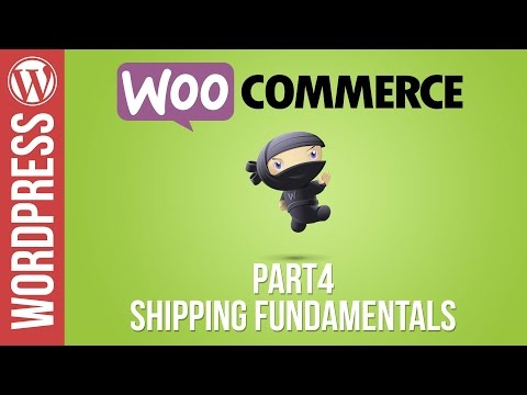 WOOCOMMERCE: How to Setup Shipping Charges in Woocommerce 2017
