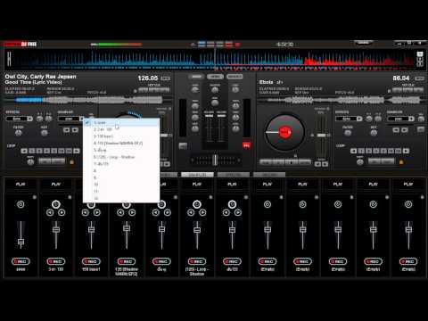 วิธีremix เพลง ด้วยโปรแกรม DJ