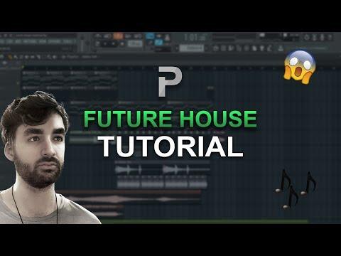 HOW TO MAKE: Future House - FL Studio tutorial + FLP