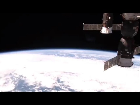 A look at the International Space Station flying down over Japan. 26 October 2018