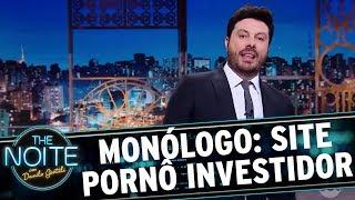 Monólogo: Site pornô vai patrocinar atletas radicais | The Noite (21/11/17)