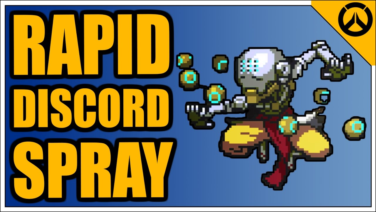 Overwatch Achievement Zenyatta   Rapid Discord   PIXEL SPRAY