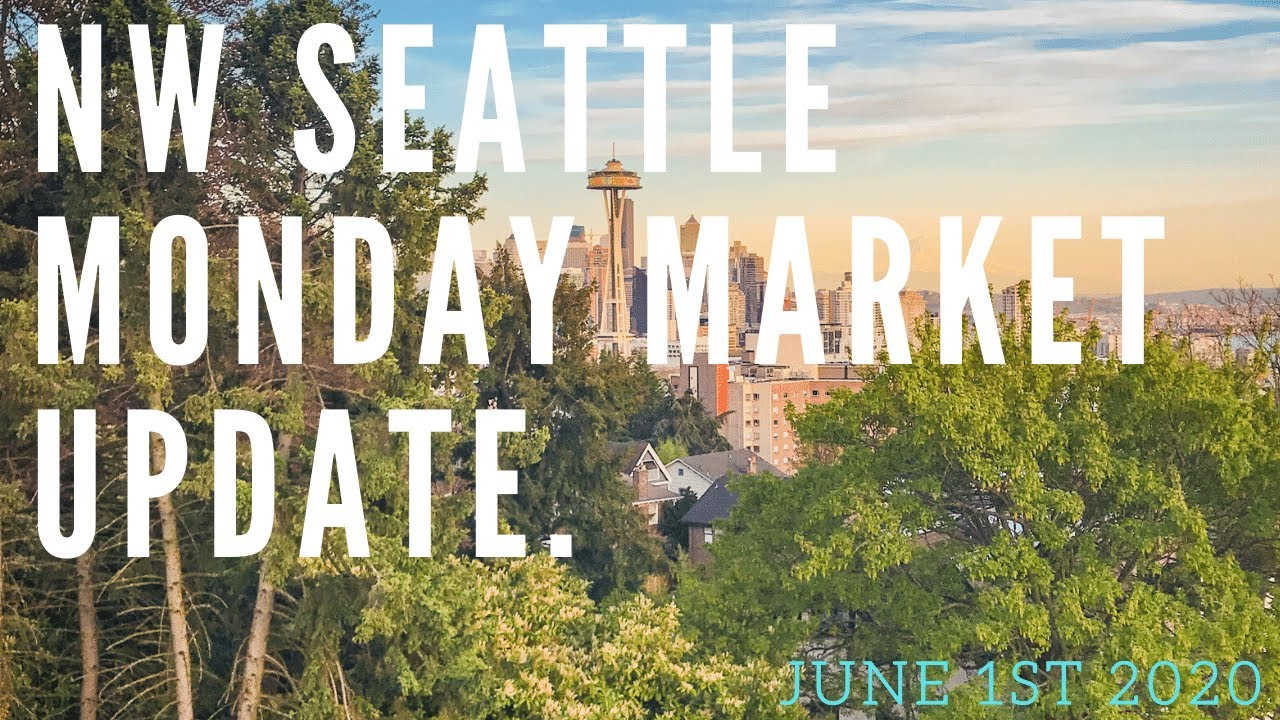 Monday NW Seattle Real Estate Market Update 📅June 1st, 2020