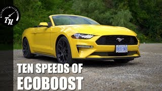 Is the 2018 Ford Mustang EcoBoost 10-Speed as fun as the 5.0 V8?