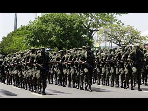 66d9fd4b74ef3 Brazilian Army   Exercito Brasileiro canção da infantaria - YouTube
