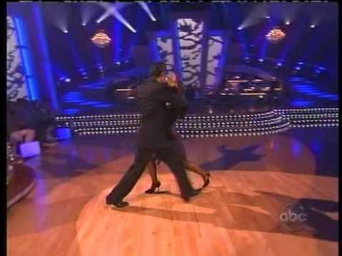 DWTS  Gilles Marini & Cheryl Burke dancing the ArgentineTango