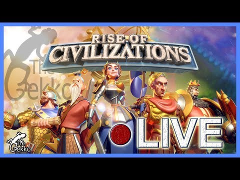 ROLLING FOR THE NEW COMMANDERS STREAM- Rise of Civilizations