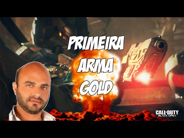 Call Of Duty BO3 Multiplayer - Primeira Arma Gold 👍