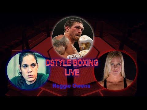 Usyk WBO Mandatory At HW? | UFC 239 - Nunes Vs Holm | #ChinoWeek | DSTYLEBOXING-LIVE!