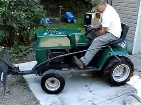 Craftsman garden tractor for sale YouTube