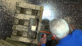 Woodturning: Cutting A Log With A Diy Jig