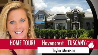 New Homes Winter Garden Windermere-  Tuscany Model Home at Havencrest by Taylor Morrison
