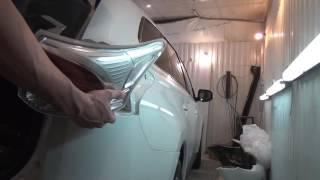 Mitsubishi Outlander     Рестайлинг. Снятие  установка заднего бампера.