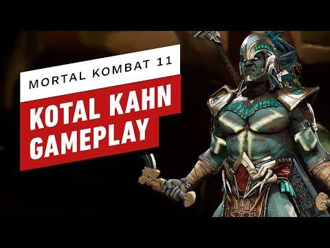 MK 11 Jacqui Briggs & Kotal Kahn Reveal Trailer