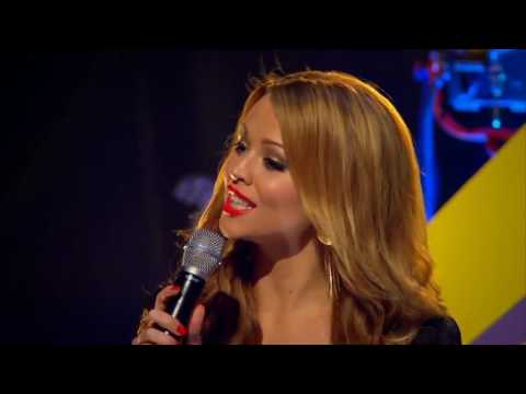 Kimberley Walsh : Presenting BBC Switch Live 2009