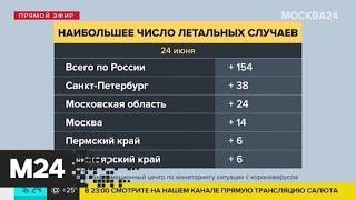 В Москве зафиксировали минимальное количество случаев COVID-19 - Москва 24