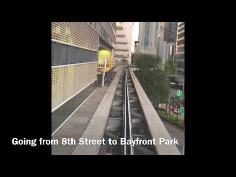 Miami Metromover Brickell Loop