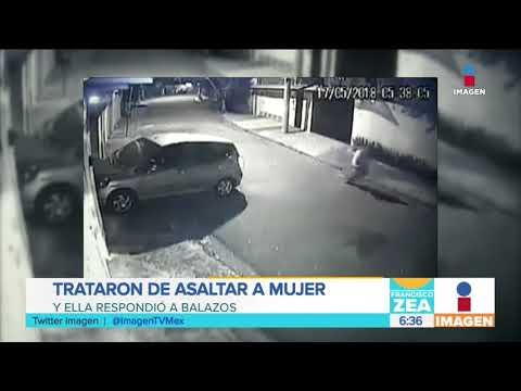 Trataron de asaltar a mujer y ella responde | Noticias con Francisco Zea
