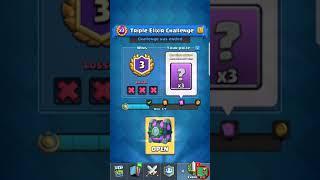 Clash royale opening 3 win triple elixir challenge chest 12.19.2017