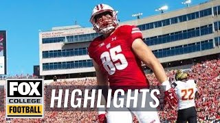 Maryland vs Wisconsin | HIGHLIGHTS | FOX COLLEGE FOOTBALL
