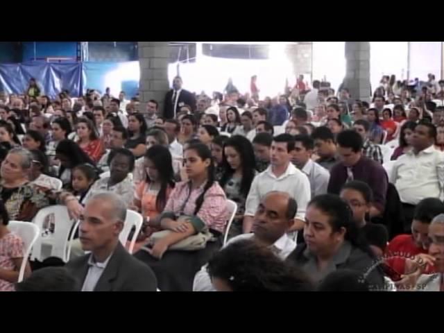 12.05.2013 - Encontro Regional de Pastores em Mogi Mirim/SP - Ev. Adão Vaz