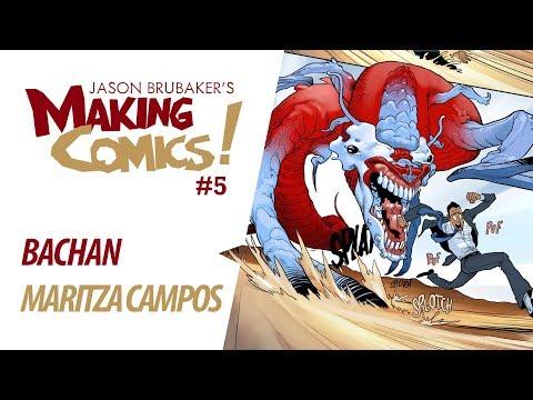 Maritza Compos & Bachan Interview (POWERNAP webcomic)