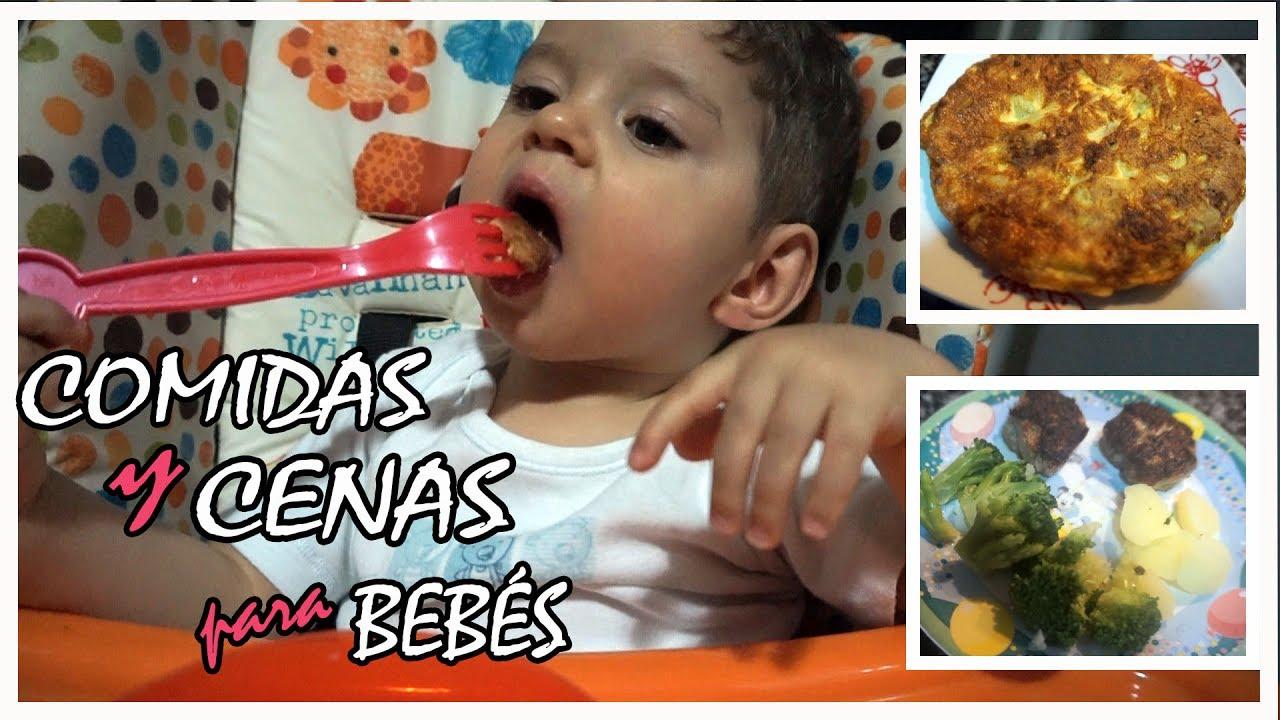 comida para un bebe de 15 meses