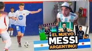 REACCIONANDO AL NUEVO MESSI ARGENTINO! | VALENTIN CARBONI