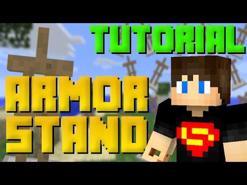 Armor Stand | Tutorias de Redstone #18 - Armor Stand | Redstone Tutorials # 18