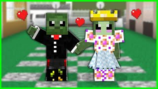 WHAT HAPPENS IF A POOR ZOMBIE GETS MARRIED? 😂 - Minecraft